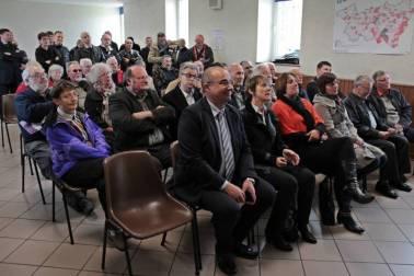 De nombreux maires des alentours ont assisté à l'inauguration.