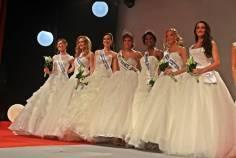 Miss France 2016, Miss Lorraine 2016 et ses dauphines.