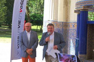 Le président du Département François Vannson a fait le déplacement pour inaugurer cette initiative.