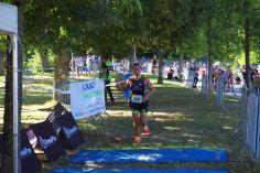La locale de l'étape, Christina Oliveira, a bouclé le parcours en 2h53'.