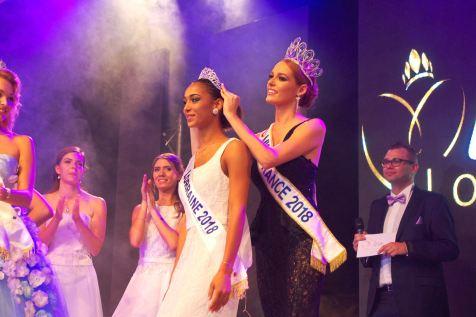 Miss France couronne du diadème, Emma Virtz la nouvelle Miss Lorraine 2018.