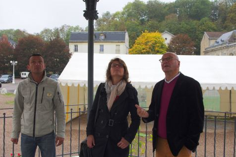 Eric Caro, Laurence Cretenoy et Luc Gerecke (de g. à dr.).
