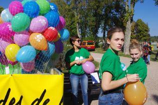 Les bénévoles des Virades de l'espoir de Vittel.