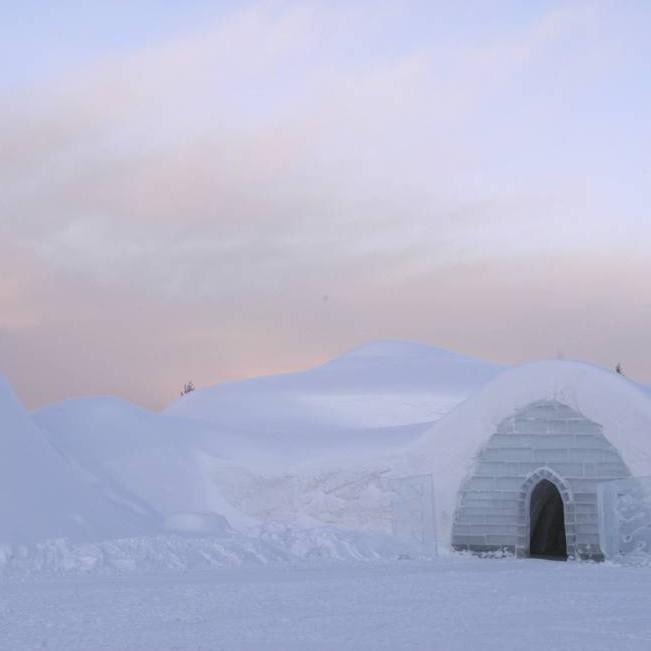 Snow Village Igloo