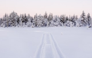 White Xmas in Lapland