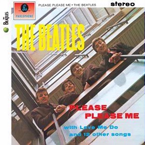 """Please Please Me"" - the Beatles' debut album, remastered for 2009!"