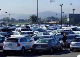 Parking lot 7 is by 9 a.m. / PHOTO: Marivel Guzman