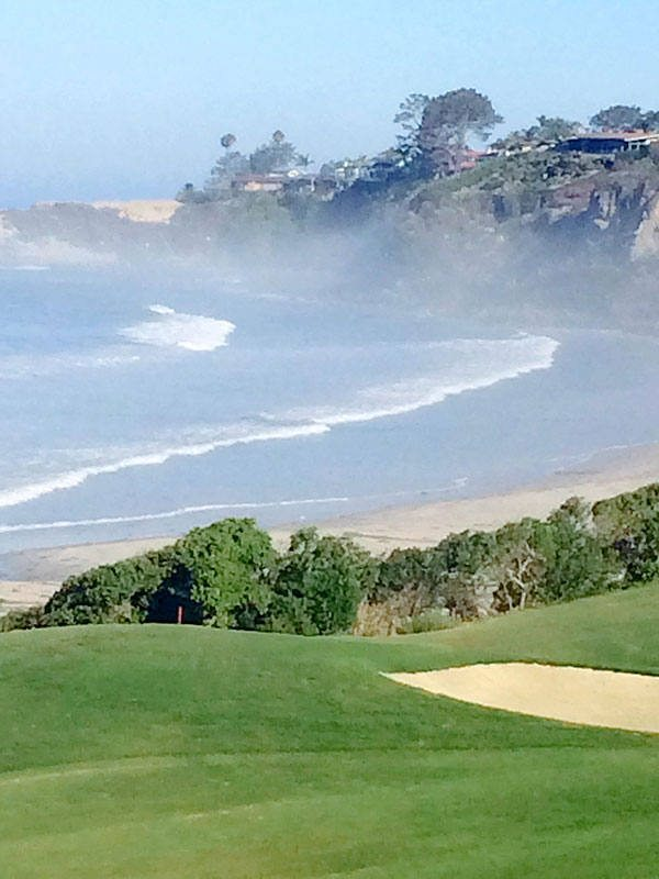 The effects of Hurricane Maria created an extremely high swell along the Southern California coastline on Wednesday, Aug. 27, 2014. (Sharon Tayler)