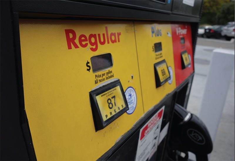 Filling up at the pump can be an expensive affair in California. (Capper Dunham)