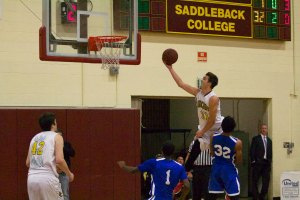 Saddleback defeated SanBernardino Valley College, 52-32 to advance to the State Tournament. (Photo by Niko LaBarbera)