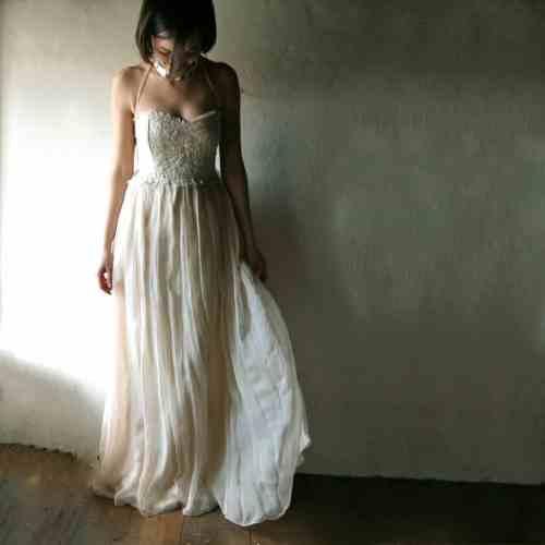 Medium Of Hippie Wedding Dress