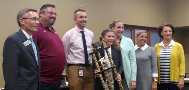 Riverside Intermediate takes home a Pasta Bowl trophy