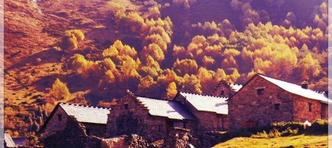 Brañas de La Seita y Zarameo desde Cuevas del Sil