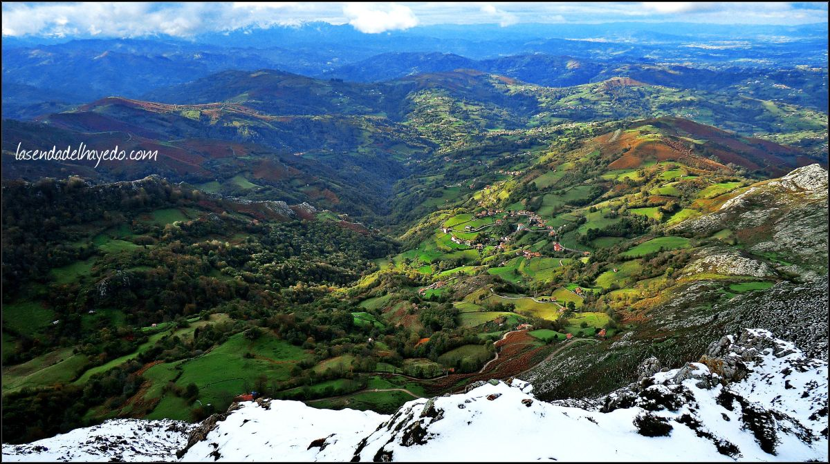 Peñamayor desde Piloñeta