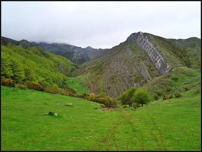Valle del Palanco, continuación de la Boyariza