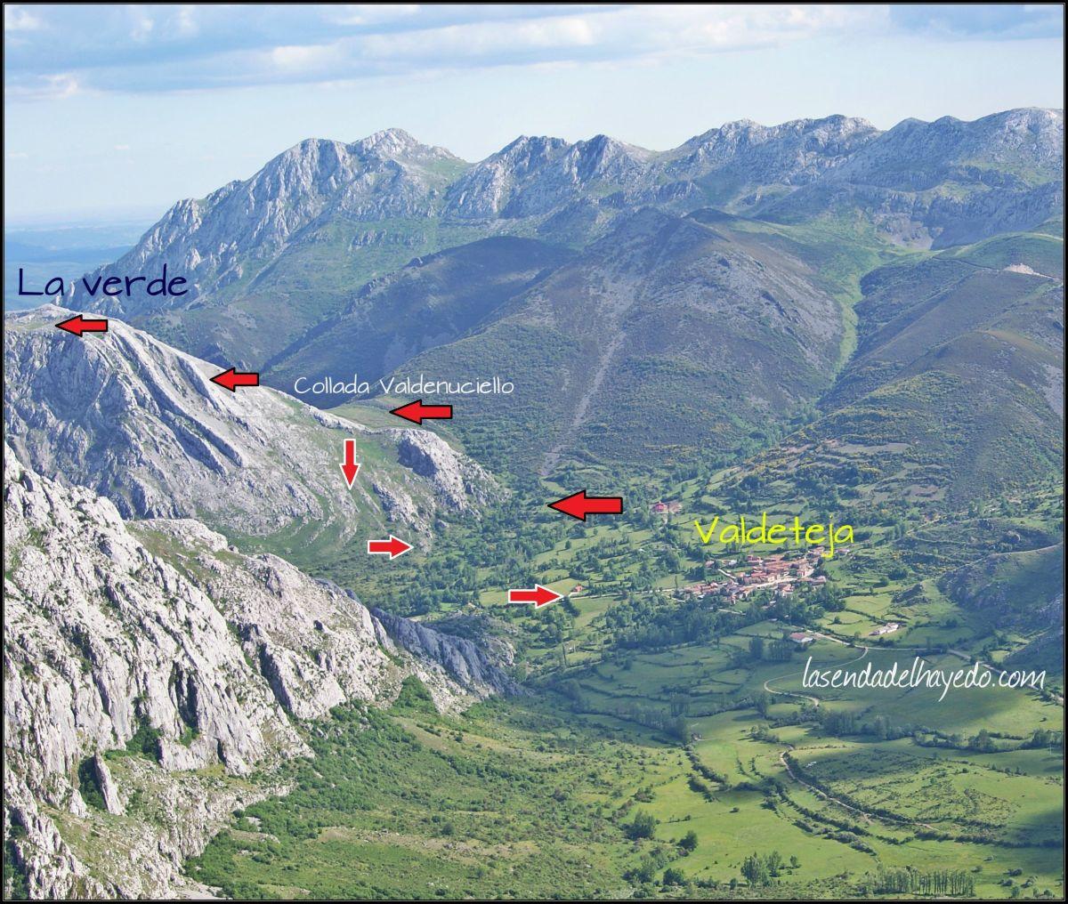Peña La Verde - 1.670 metros - Valdeteja