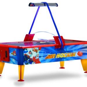 Airhockeytisch mit einem Eishockey-Design