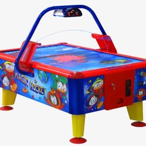 Airhockeytisch in Kindergröße