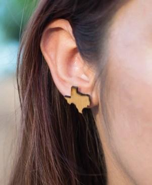 Texas Earring