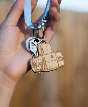 Hasselblad Keychain Open