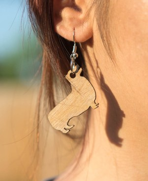 Corgi Solid Earrings