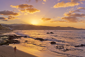 Sunset at Playa Chica