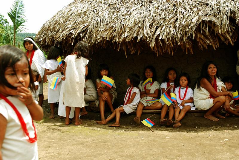 Colombia. Comunidades nativas. Foto: Presidencia de la República de Colombia