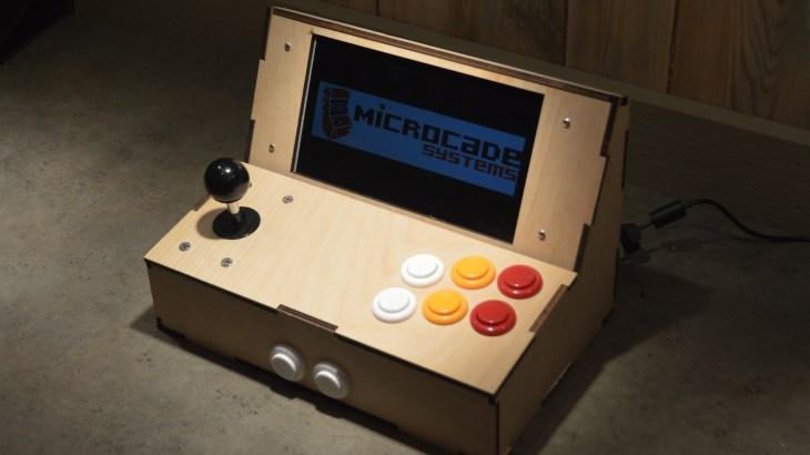 Microcade portable arcade system