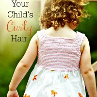 How to Care for Your Child's Curly Hair
