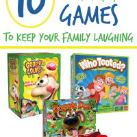 10 Gross Games That Will Keep Your Family Laughing