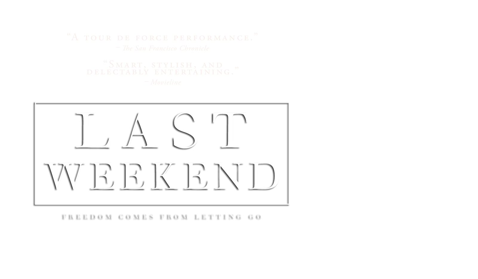 Last Weekend - Patricia Clarkson -  In Theaters August 29 2014