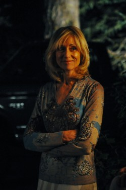 Veronika Goss (Judith Light) in LAST WEEKEND.