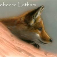 Commission Progress - Red Fox Kit Miniature Watercolors