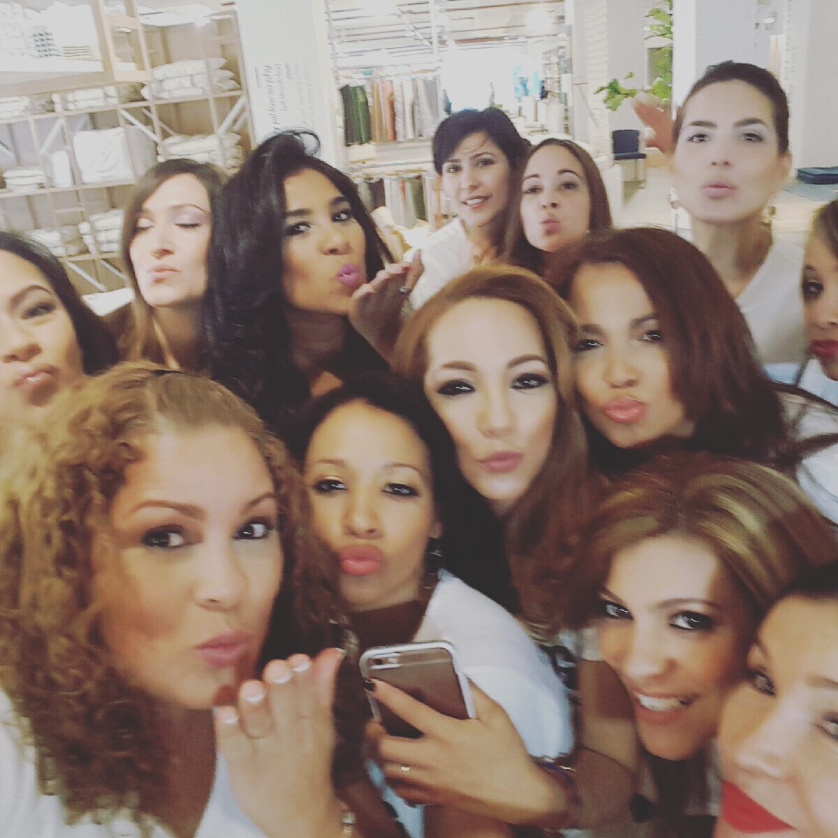 Our Behind The Scene - Leading Latinas en New York Photoshoot at Coco-Mat NYC