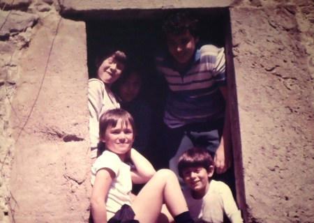 1985. En el interior de un molino en runias