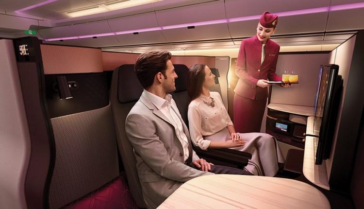 Qatar Airways unveils 'QSuite'
