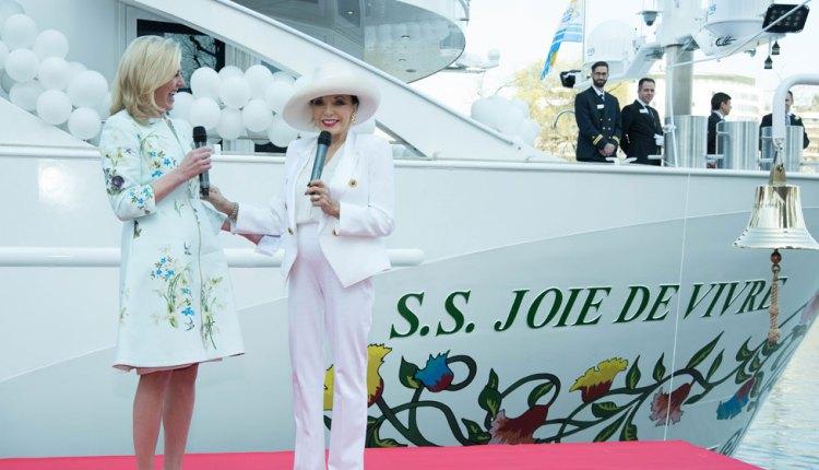 Uniworld's S.S. Joie de Vivre sets sail