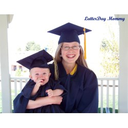 Attractive Have Time To Make You Can Buy M Online How To Make A Baby Graduation Cap Gown Latterday Mommy Pre Graduation Tassel Side Graduation Tassel Side Doctorate