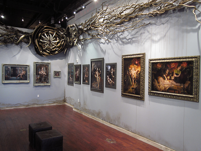 """Ransom & Mitchell's Solo Debut """"Smoke & Mirrors"""" Exhibit at Varnish Fine Art"""