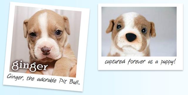 Custom Stuffed Pups