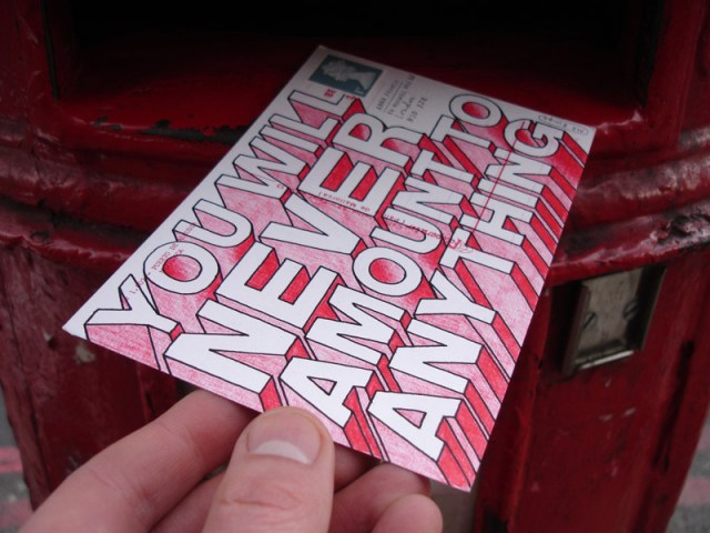 Hate Mail project by Mr Bingo