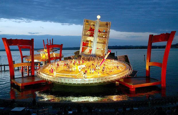 Festival Bregenz en Austria