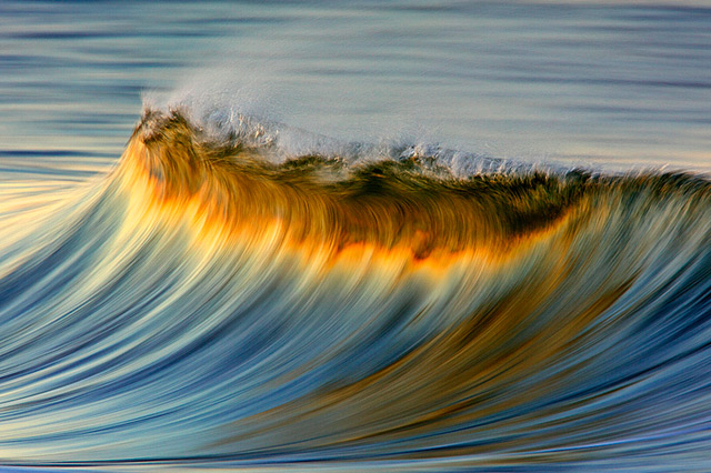 Colorful wave photography by David Orias