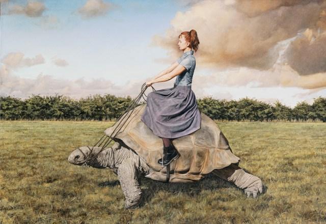 Surreal paintings by Lisa Adams