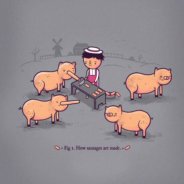 How Sausages Are Made
