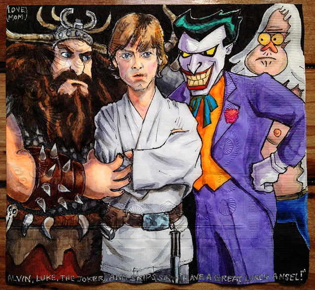 Alvin Luke Joker and Skips