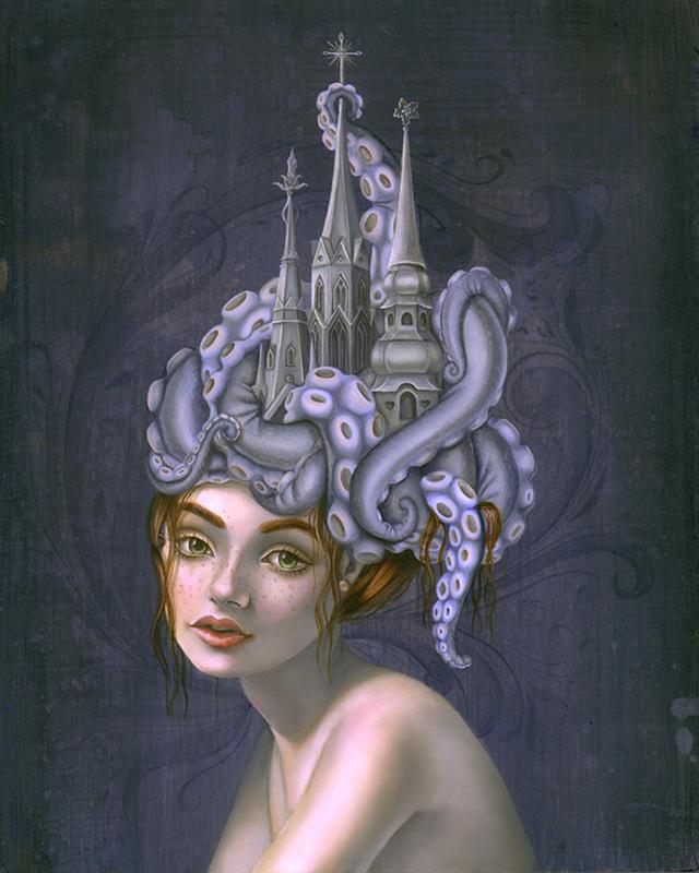 Three Steeples by Kari-Lise Alexander