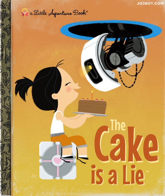 Portal Little Golden Book by Joey Spiotto