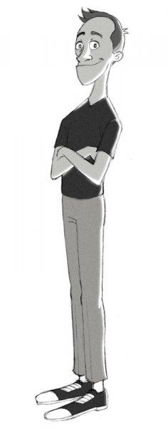 Cartoon Kevin