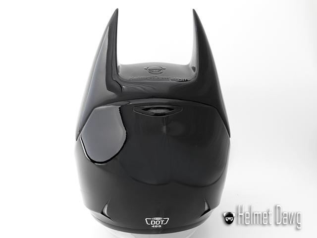 Dark as Night Batman Motorcycle Helmet